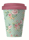 Becher Bamboocup - Vintage Roses Coffee To Go