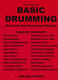 Basic Drumming (Revised + Expanded Edition)