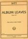 Album Leaves Op 39