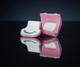 Thumbport IVORY PINK