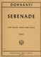 Serenade C - Dur Op 10