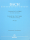 Konzert 5 F - Moll BWV 1056