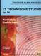 25 Technische Studien Op 14