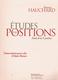 Etudes des Positions 3. Position