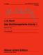 Das Wohltemperierte Klavier 1 BWV 846-869