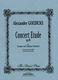 Concert Etude Op 49