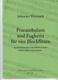 Praeambulum Und Fughetta Für Vier Blockflöten