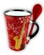Cappuccino Tasse Saxophon Mit Loeffel