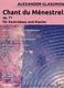 Chant Du Menestrel Op 71