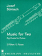 Music For Two - Pop Duets For Flutes
