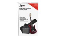 Fender Squier AFFINITY STRAT HSS CAR MIT FENDER FRONTMAN 15 G