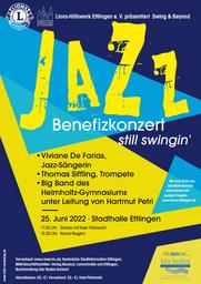 Jazz Benefizkonzert - Lions-Hilfswerk-Ettlingen e.V. präsentiert Swing & Beyond