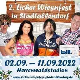 2. Licher Wiesnfest Stadtallendorf - 2.Wiesnhitnacht mit Trenkwalder & Mickie Krause