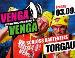 Venga Venga - Die 90er und 2000er Party