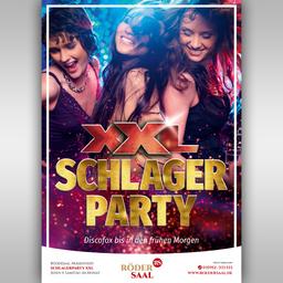 RöderSaal #rö1 Clubparty Schlagernacht