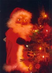 Kasper und der Weihnachtsmann - Handpuppenspiel für Kinder ab vier Jahren