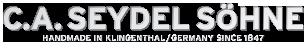 C.A. SEYDEL SÕˆNE Logo 2