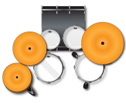 FZ705 Configuration -Pearl Drum