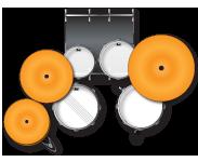FZ705 Configuration -Pearl Drum