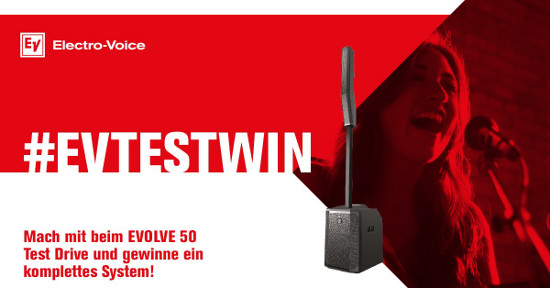 Electro-Voice Gewinnspiel