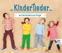 Kinderlieder aus Deutschland und Europa CD Cover